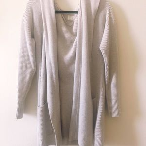 Cashmere sweater, long